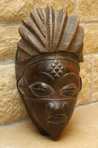 Masque Punu - Gabon - African Tradition