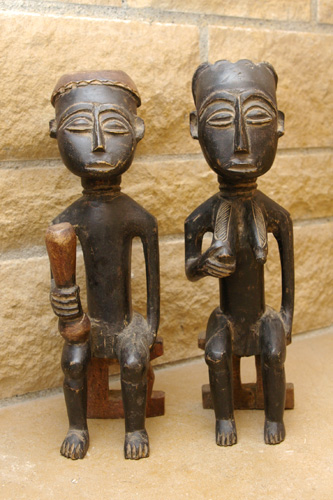 Figurines de couple - Ghana - African Tradition