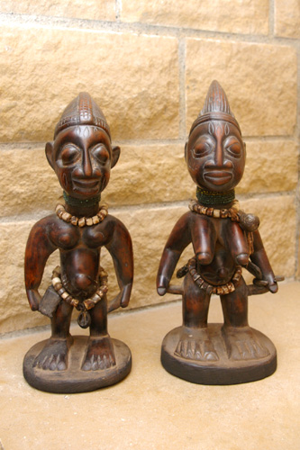Figurines de couple Ibeji - Nigéria - African Tradition