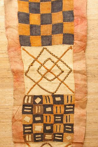Pièce de tissu Kuba - RDC - African Tradition